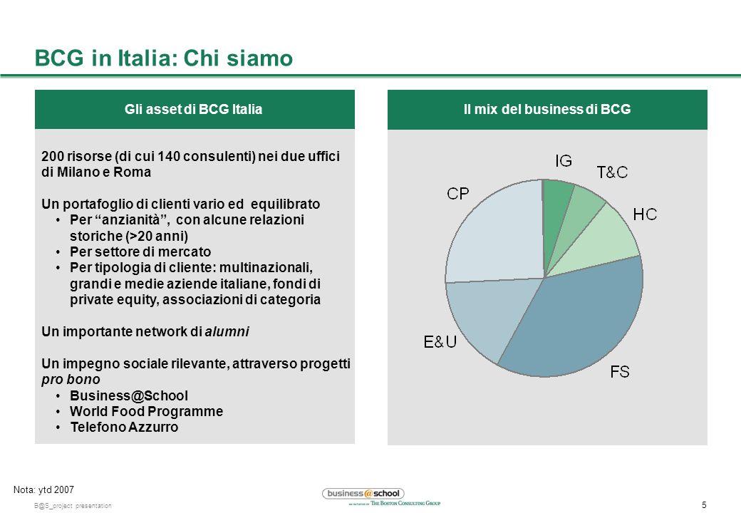 BCG in Italia: Chi siamo