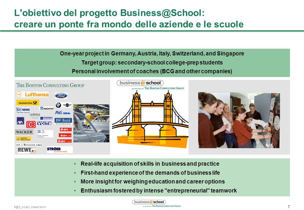 L obiettivo del progetto Business@School: creare un ponte fra mondo delle aziende e le scuole