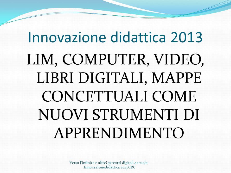 Innovazione didattica 2013