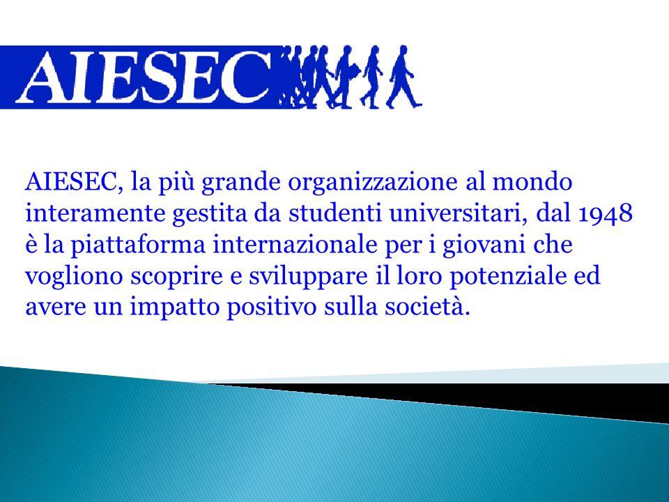 AIESEC, la più grande organizzazione al mondo