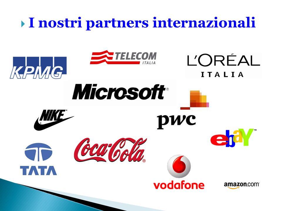 I nostri partners internazionali