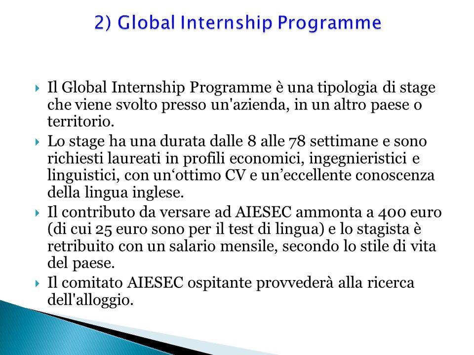2) Global Internship Programme