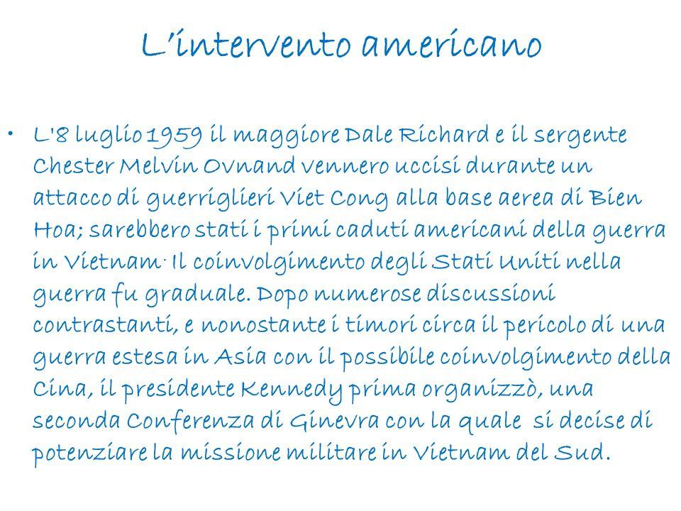 L'intervento americano
