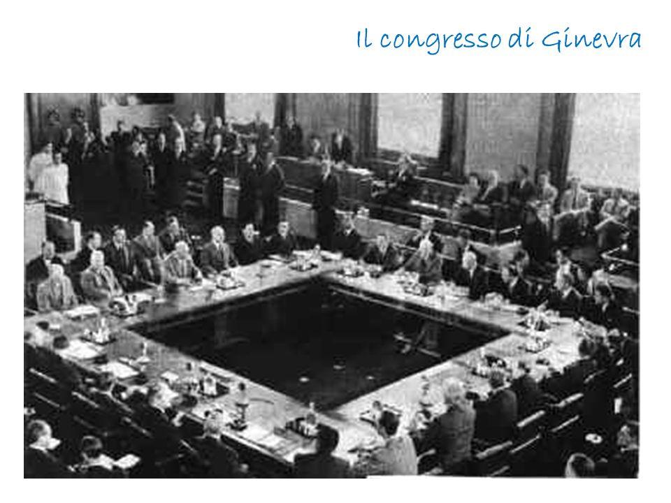 Il congresso di Ginevra