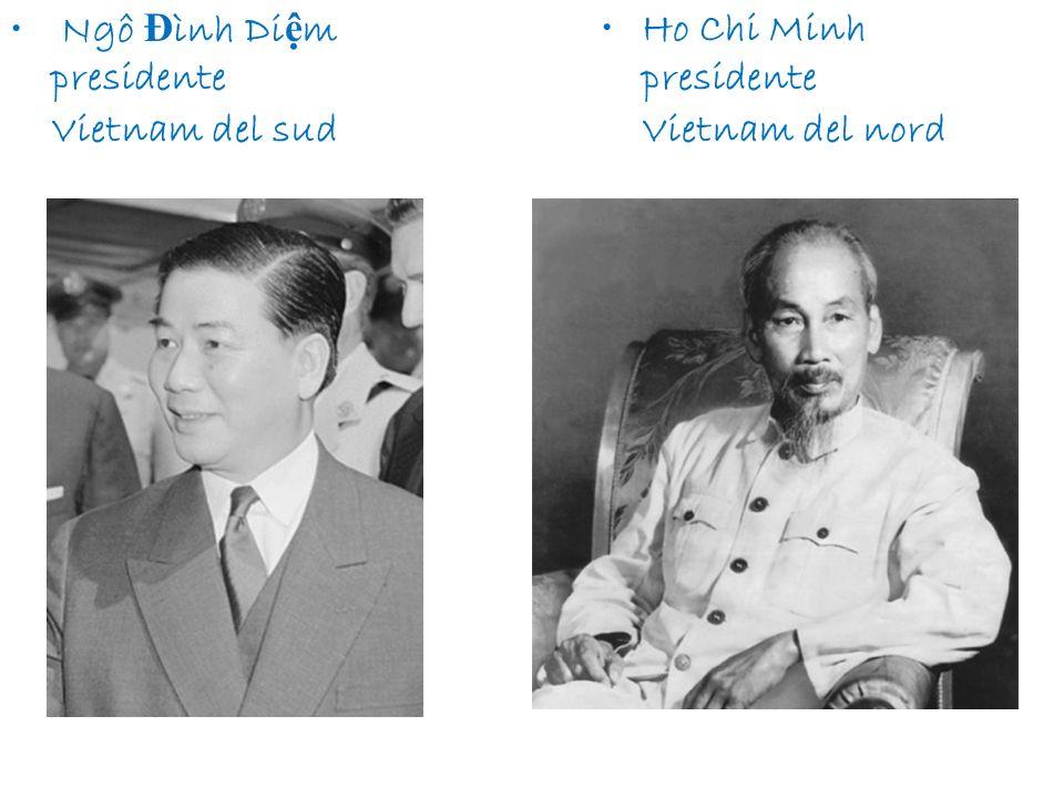 Ngô Đình Diệm presidente Vietnam del sud