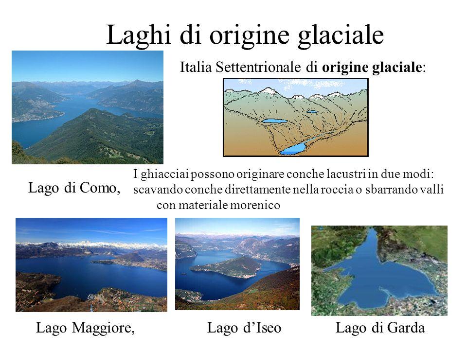 Laghi di origine glaciale