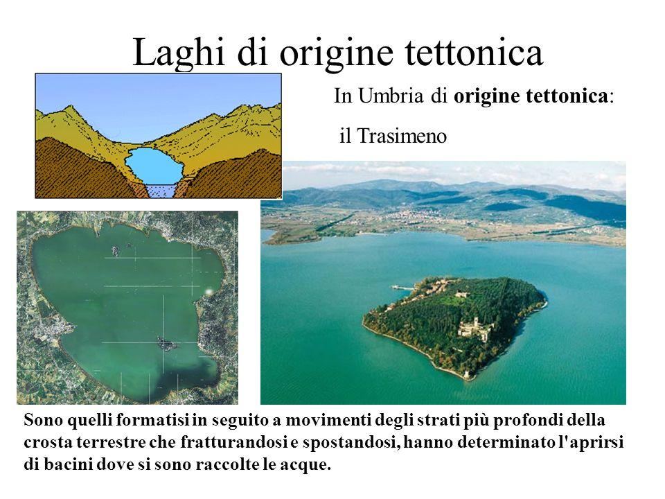 Laghi di origine tettonica