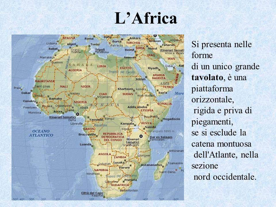L'Africa Si presenta nelle forme