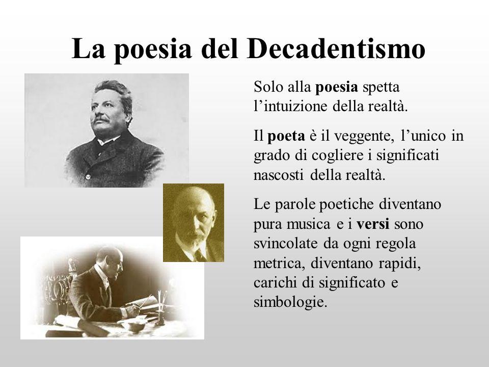 La poesia del Decadentismo