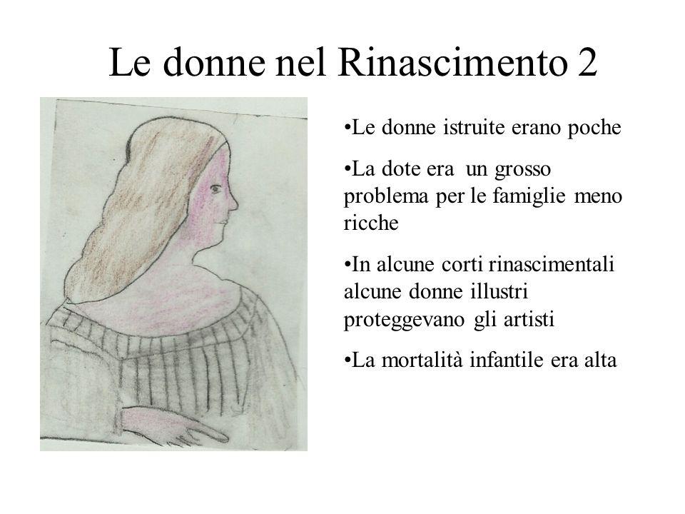 Le donne nel Rinascimento 2