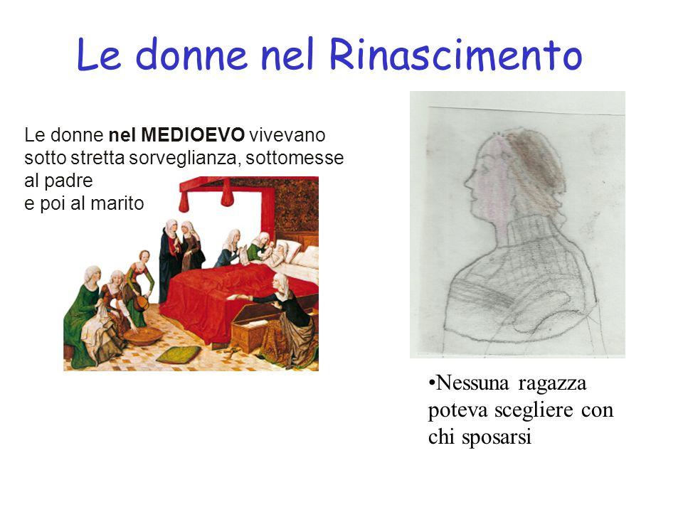 Le donne nel Rinascimento