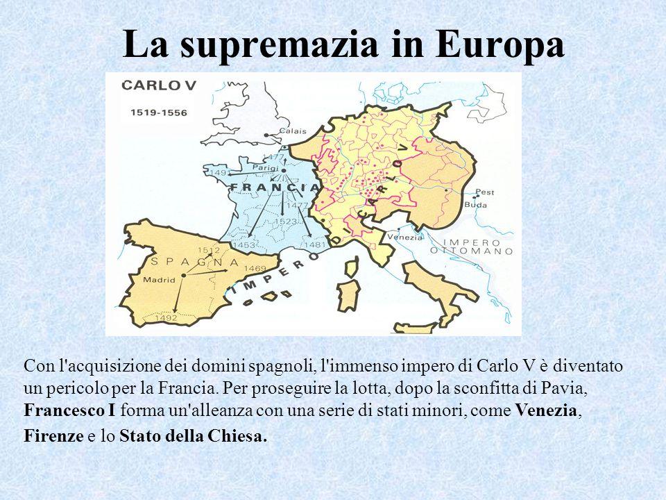 La supremazia in Europa