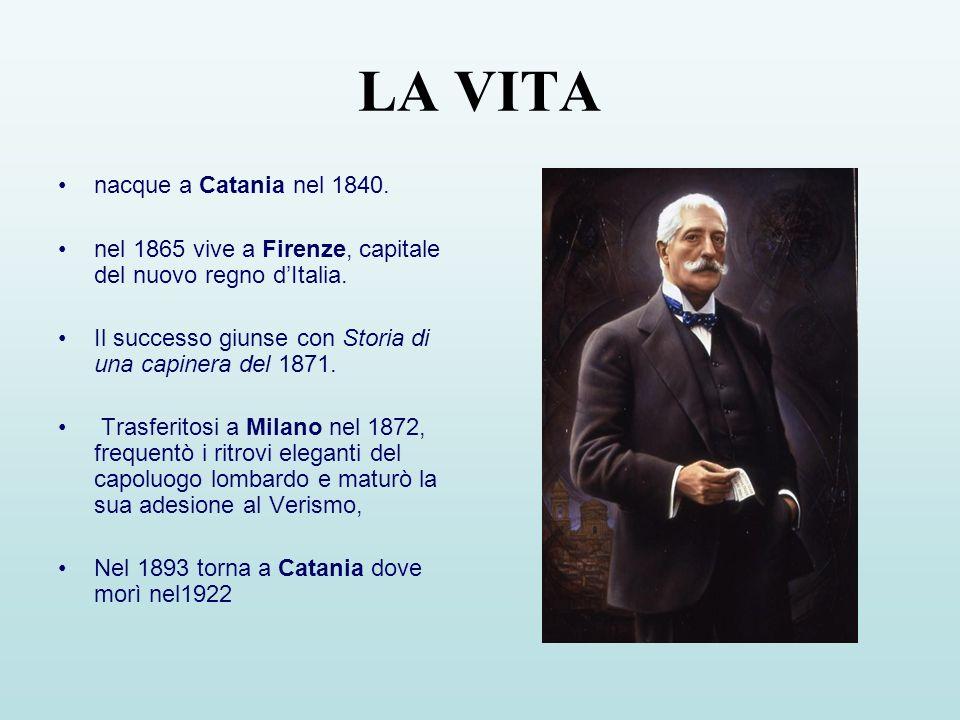 LA VITA nacque a Catania nel 1840.