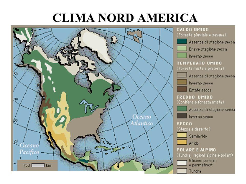 CLIMA NORD AMERICA