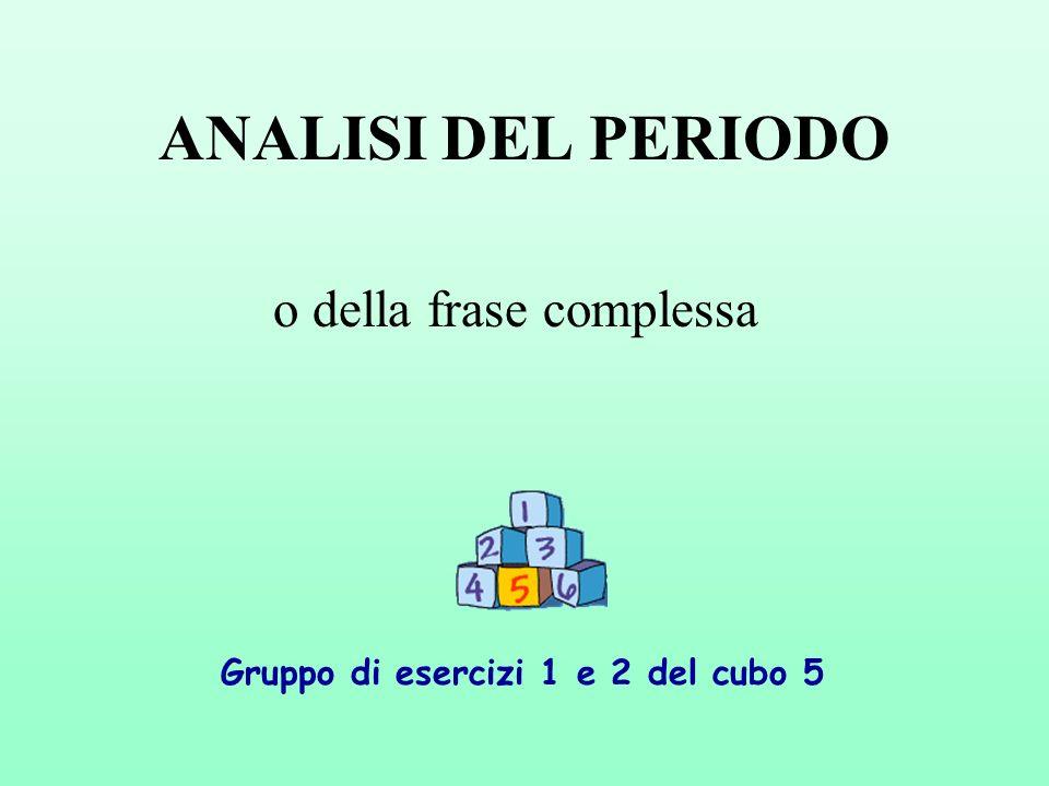 Analisi Del Periodo O Della Frase Complessa Ppt Video Online