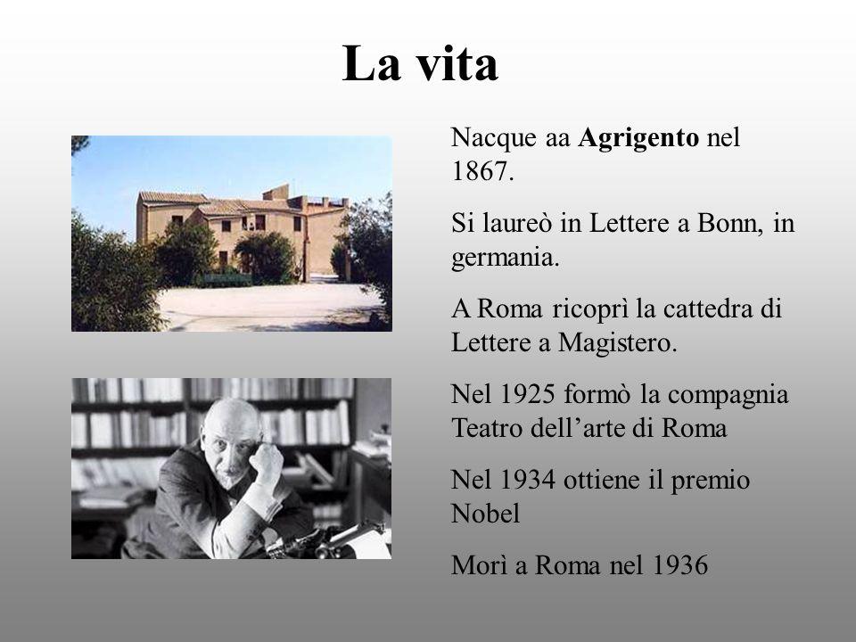 La vita Nacque aa Agrigento nel 1867.