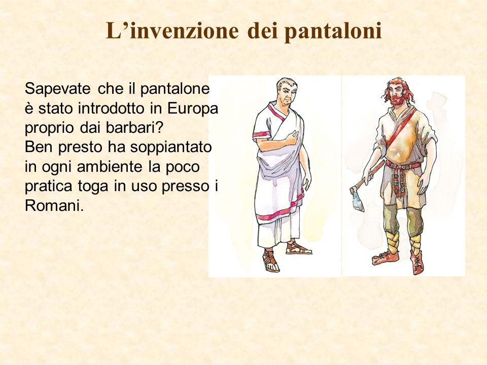 L'invenzione dei pantaloni