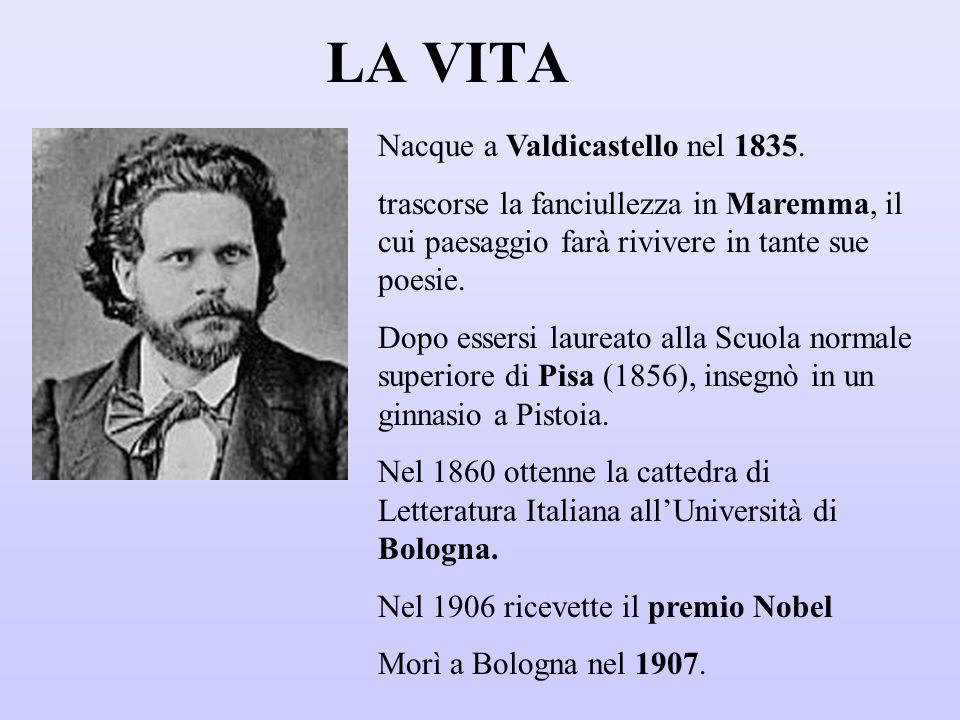 LA VITA Nacque a Valdicastello nel 1835.