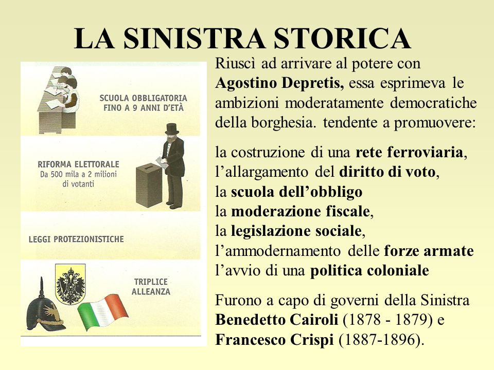 LA SINISTRA STORICA