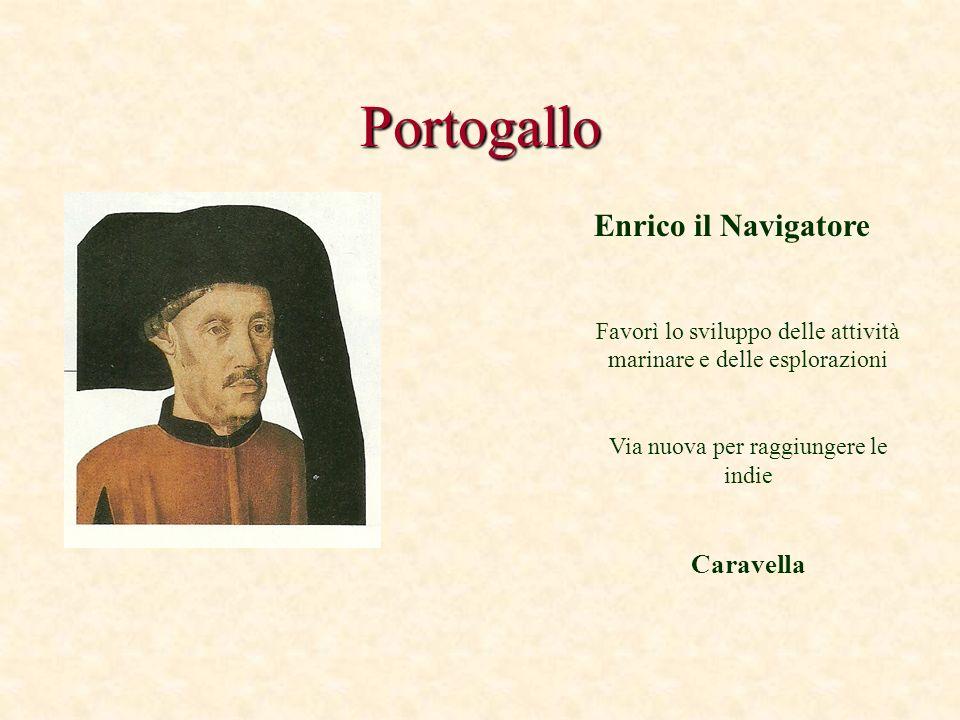 Portogallo Enrico il Navigatore Caravella