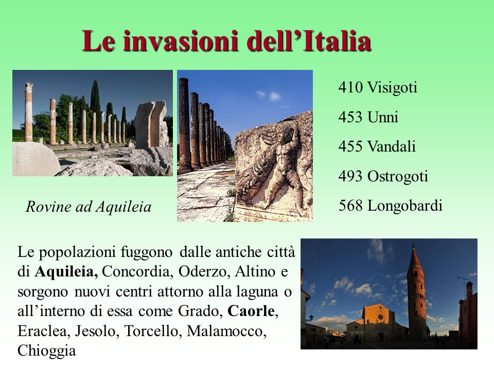 Le invasioni dell'Italia