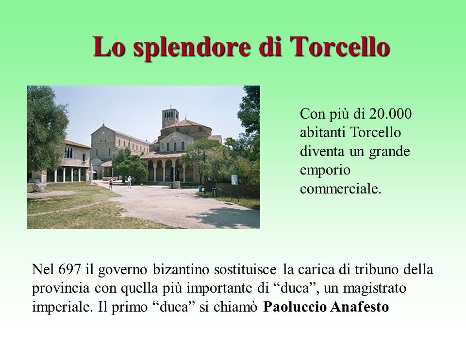 Lo splendore di Torcello