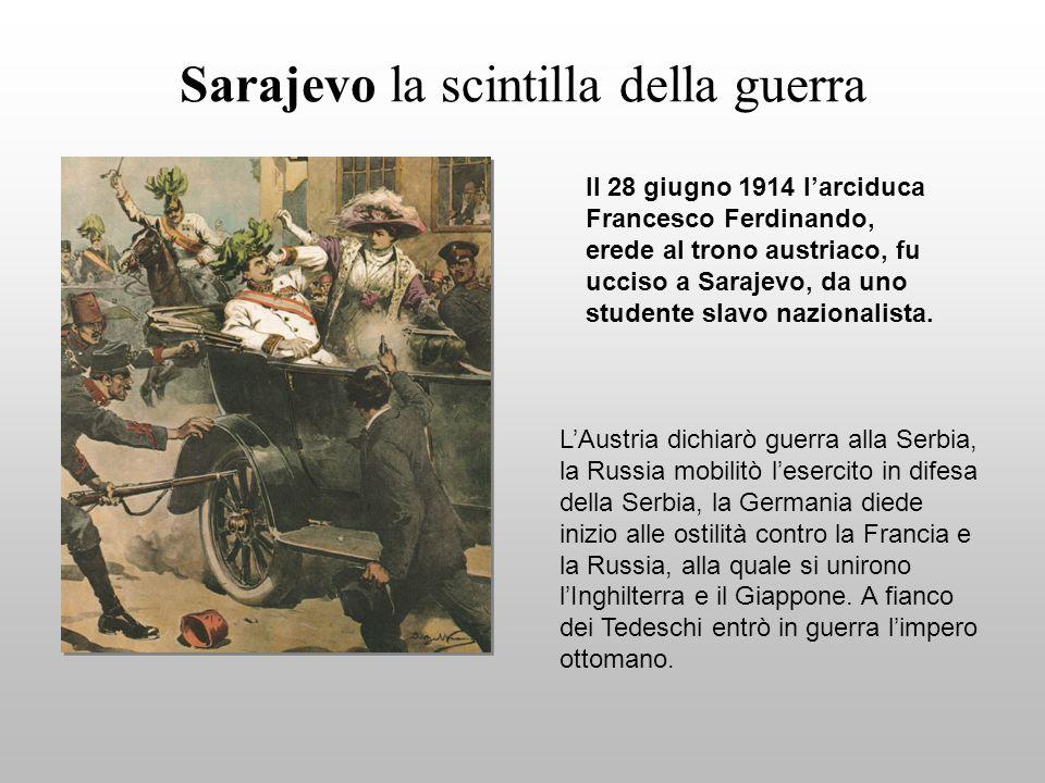 Sarajevo la scintilla della guerra