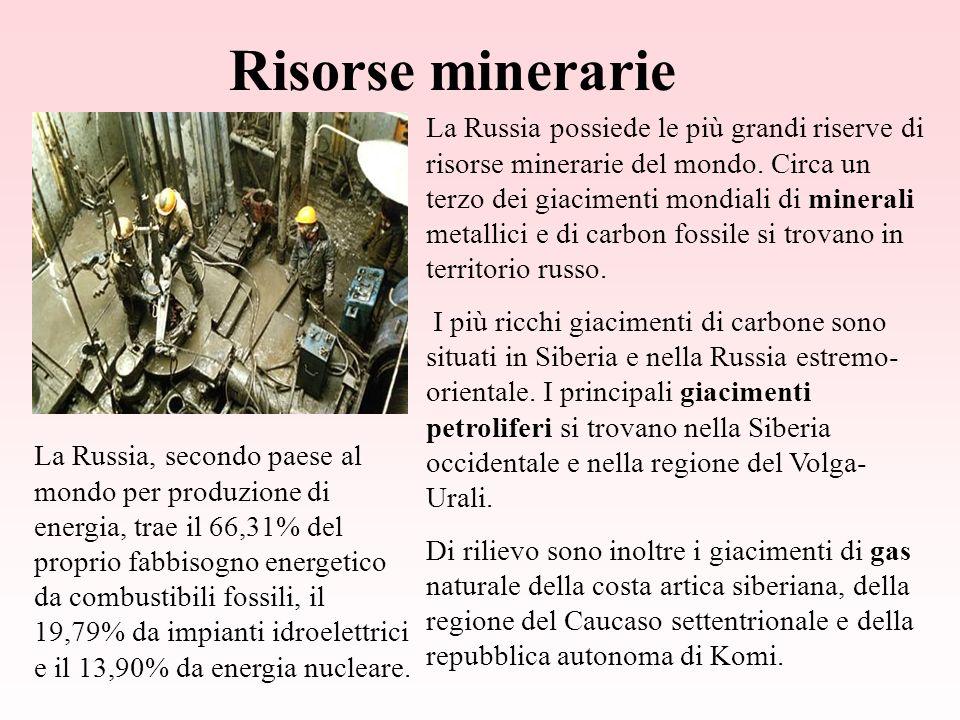 Risorse minerarie