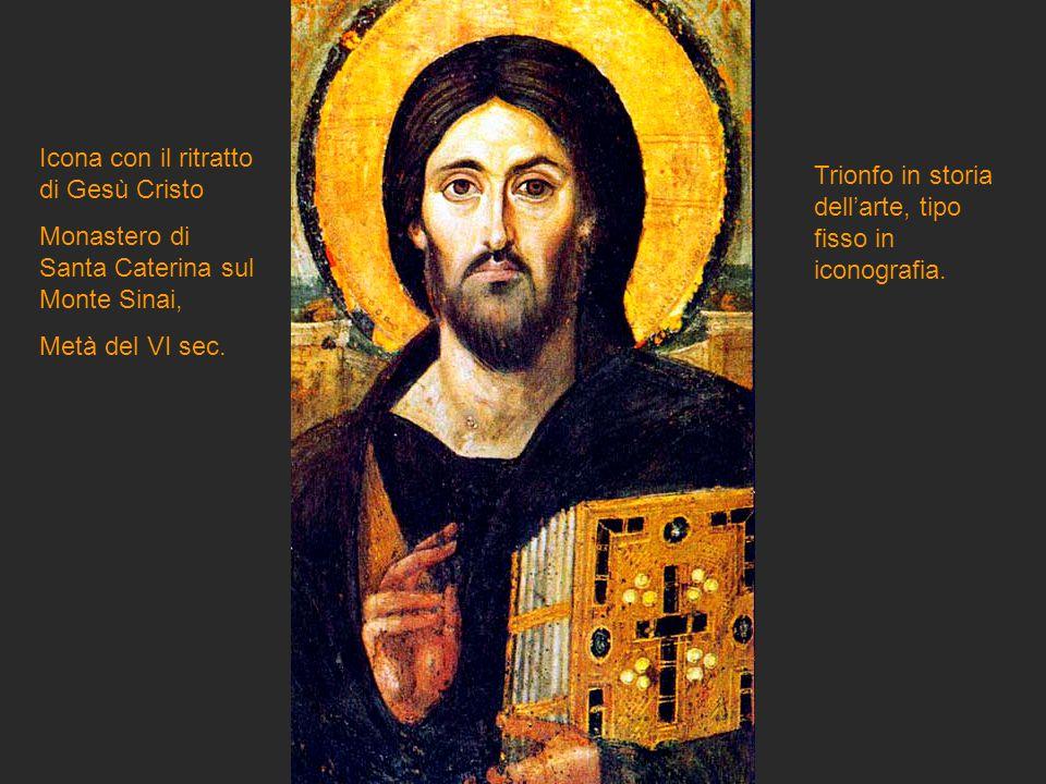 Icona con il ritratto di Gesù Cristo