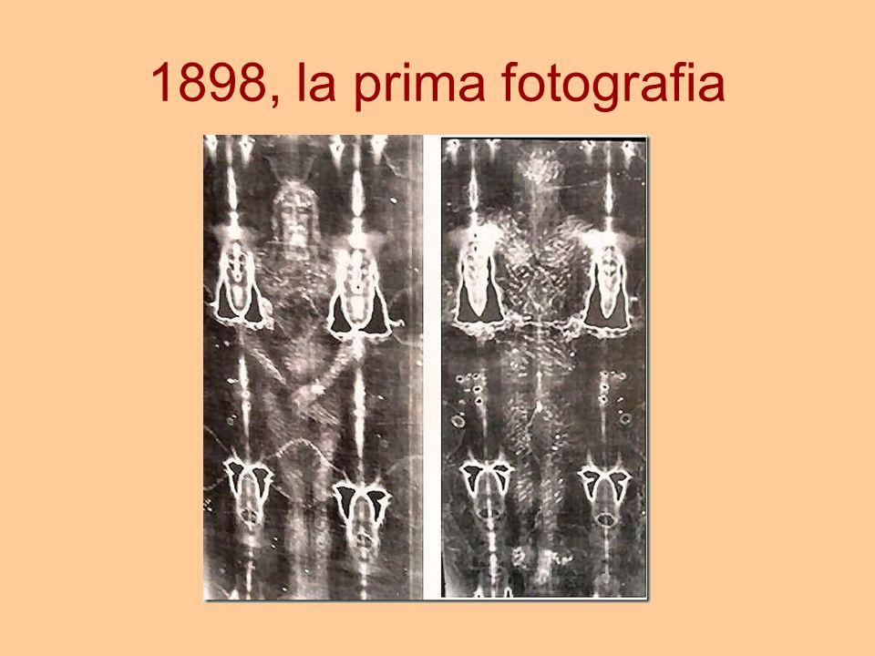 1898, la prima fotografia