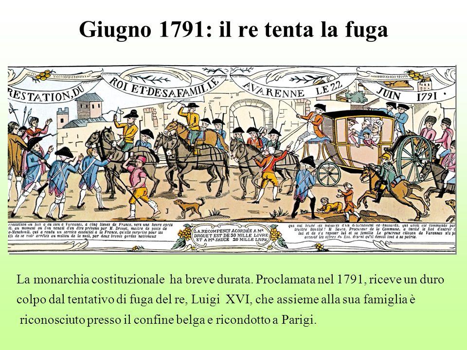 Giugno 1791: il re tenta la fuga