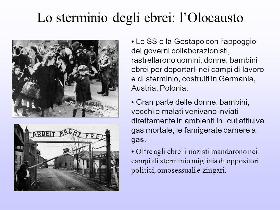 Lo sterminio degli ebrei: l'Olocausto
