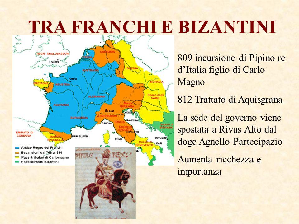 TRA FRANCHI E BIZANTINI