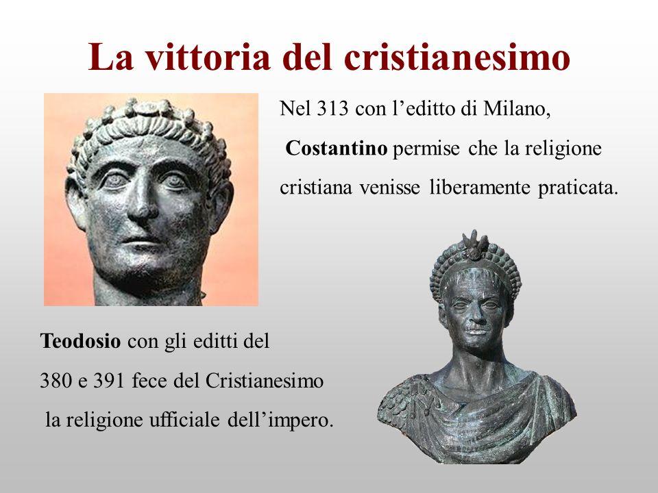 La vittoria del cristianesimo