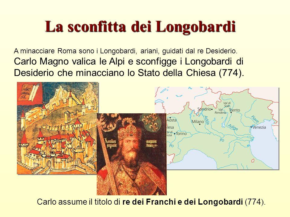 La sconfitta dei Longobardi
