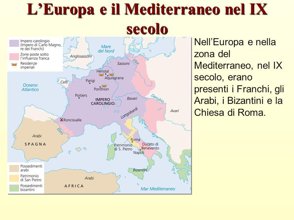 L'Europa e il Mediterraneo nel IX secolo