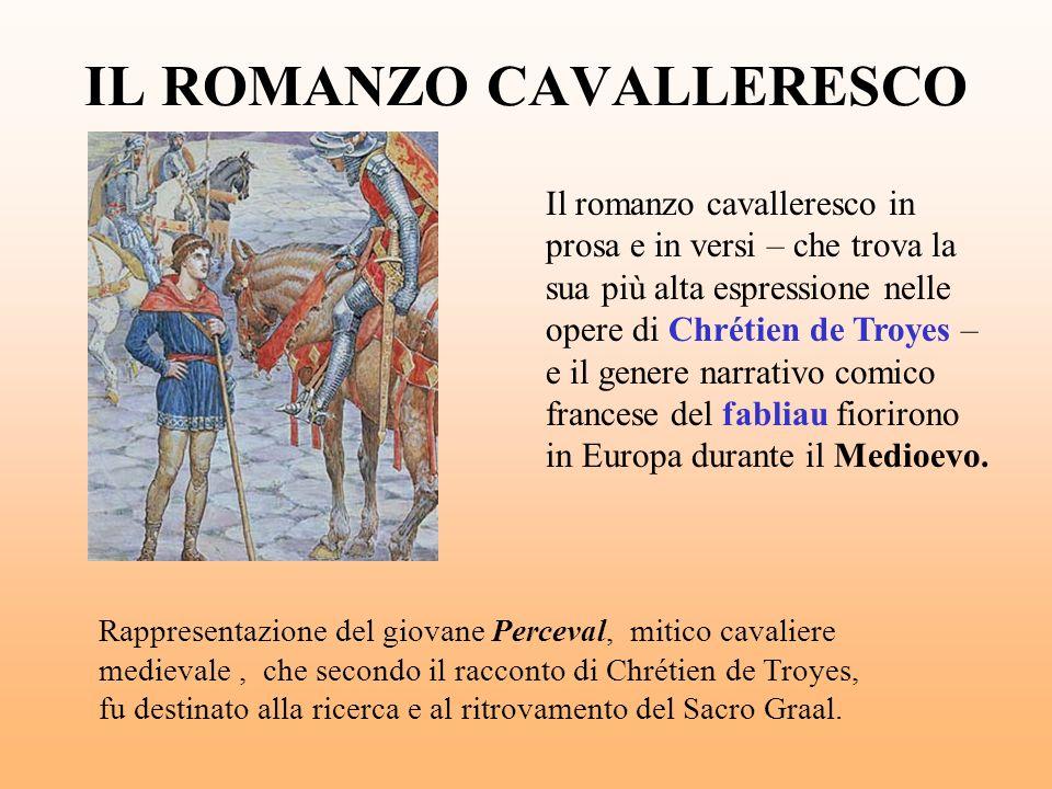 IL ROMANZO CAVALLERESCO