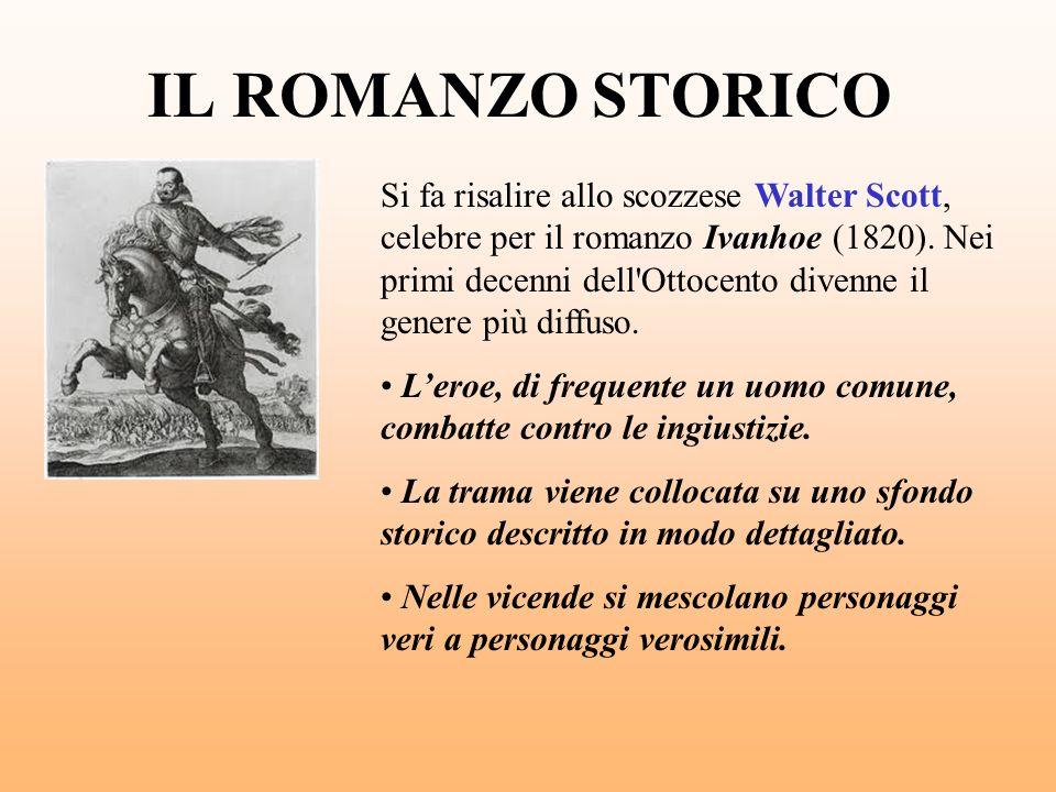 IL ROMANZO STORICO