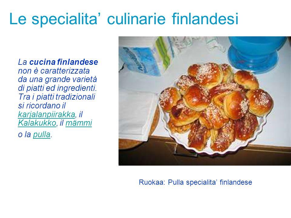 Le specialita' culinarie finlandesi