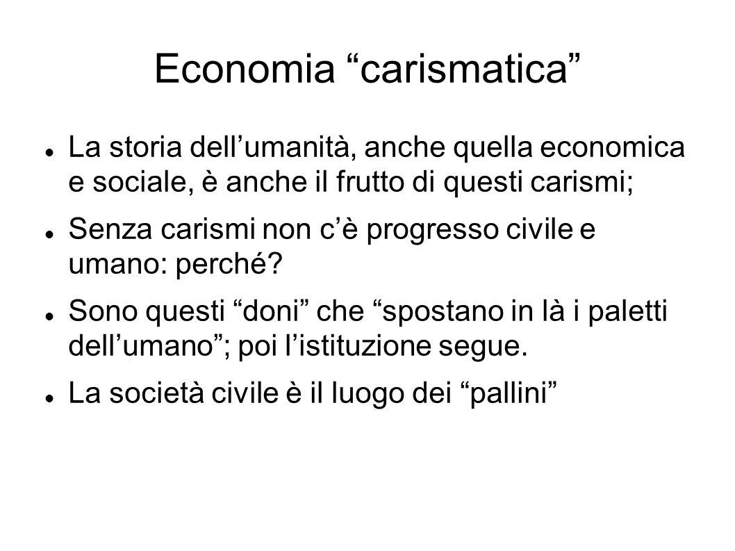 Economia carismatica