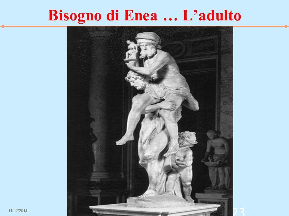 Bisogno di Enea … L'adulto