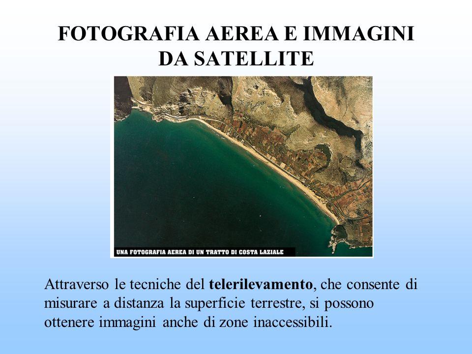 FOTOGRAFIA AEREA E IMMAGINI DA SATELLITE