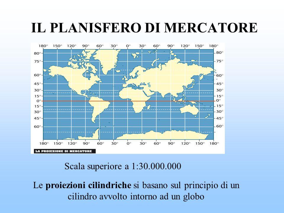 IL PLANISFERO DI MERCATORE