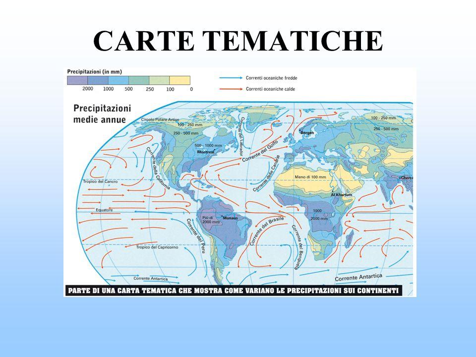 CARTE TEMATICHE