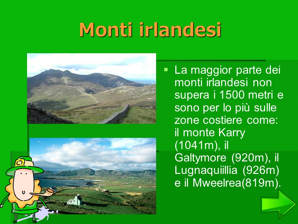 Monti irlandesi