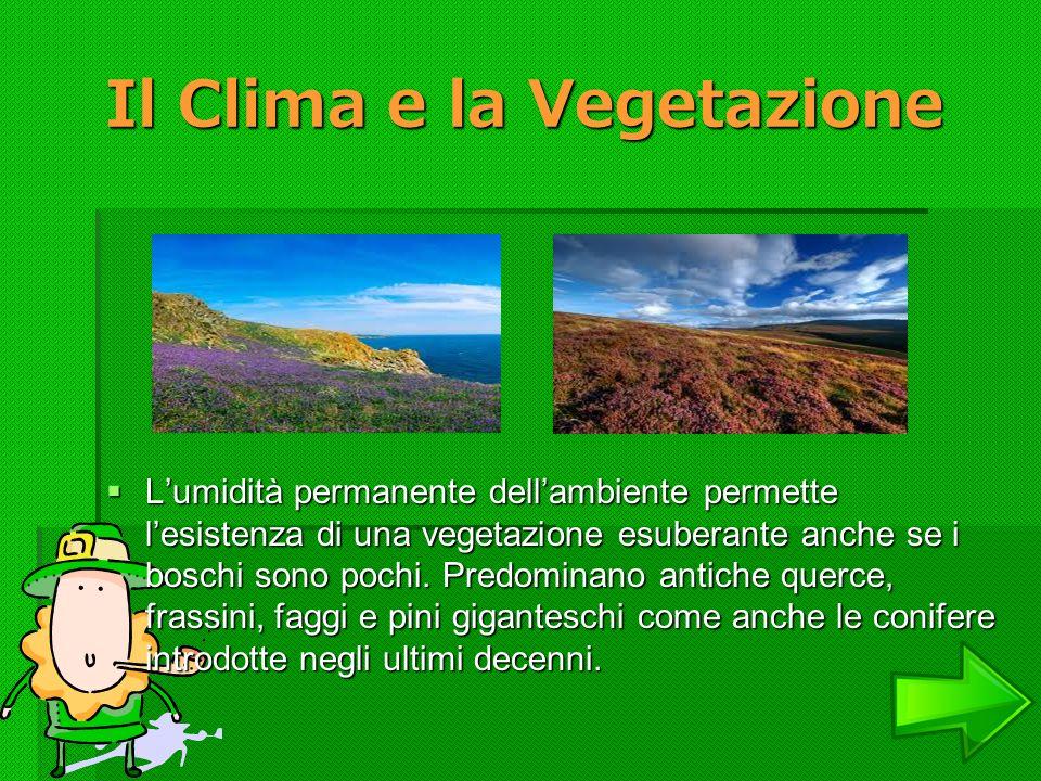 Il Clima e la Vegetazione