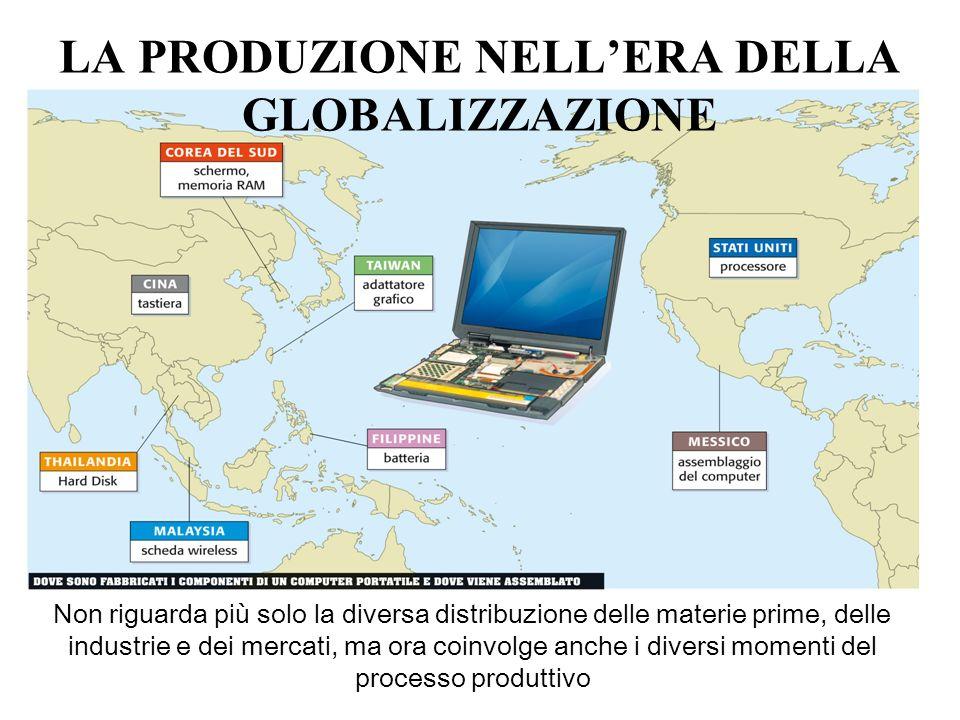 LA PRODUZIONE NELL'ERA DELLA GLOBALIZZAZIONE