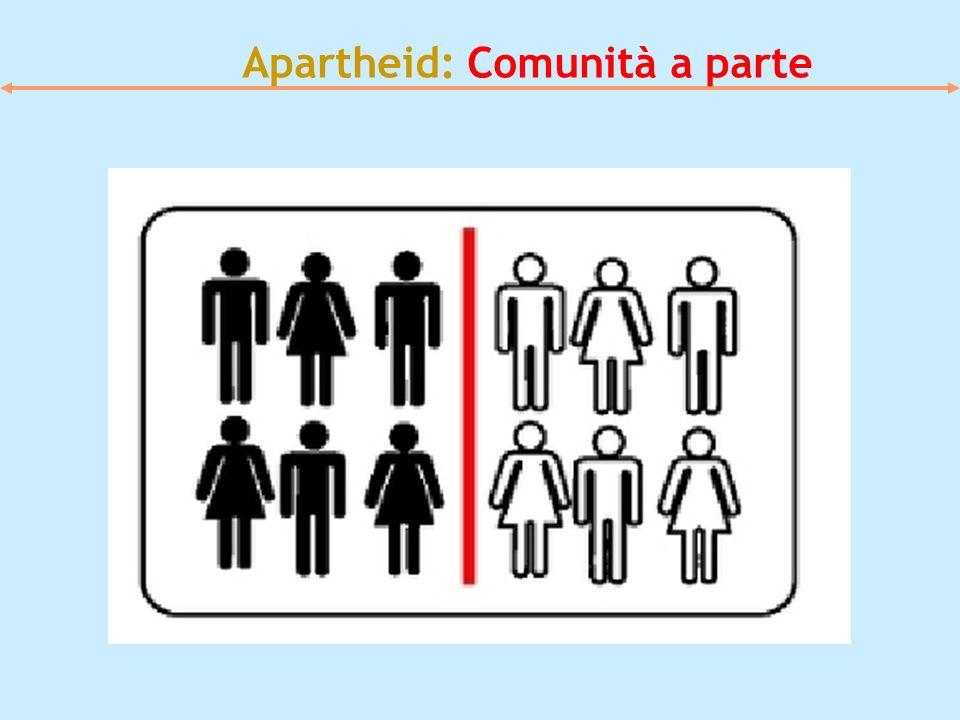 Apartheid: Comunità a parte