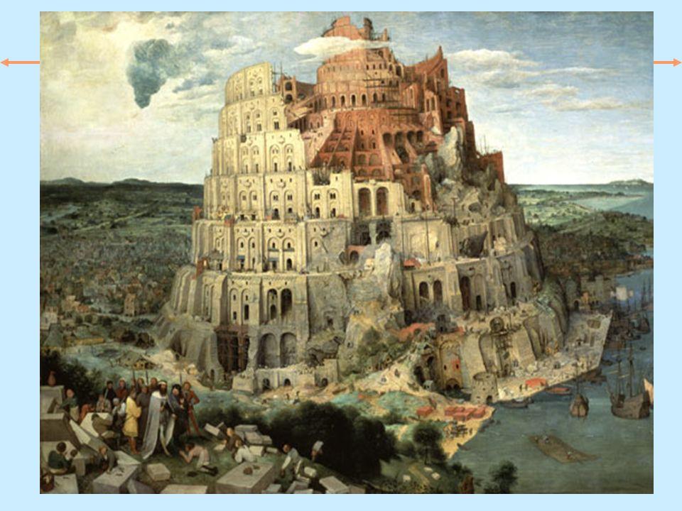 Pieter Brueghel il Vecchio La torre di Babele .