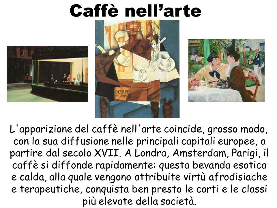 Caffè nell'arte